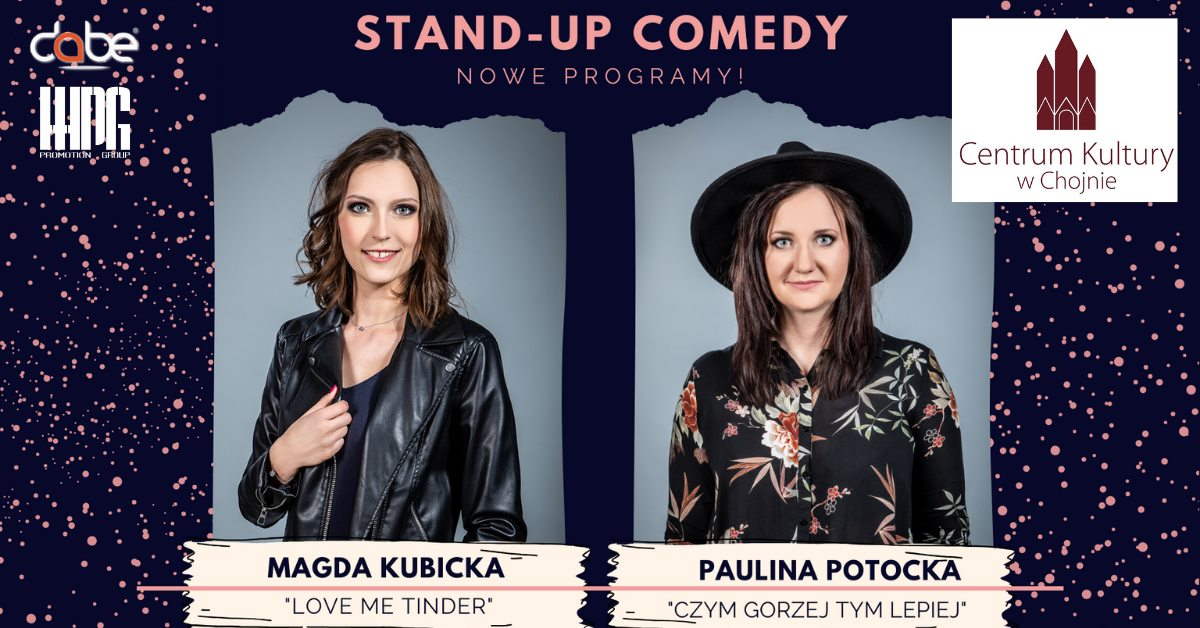 STAND UP COMEDY w Chojnie